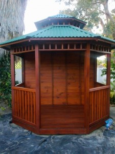 Gazebo from front