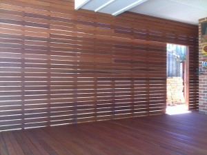 Decking and Screen