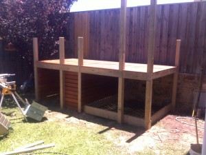 Cubby Decking