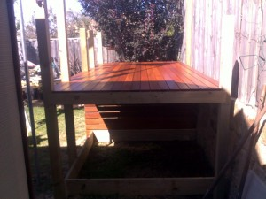 Cubby Deck