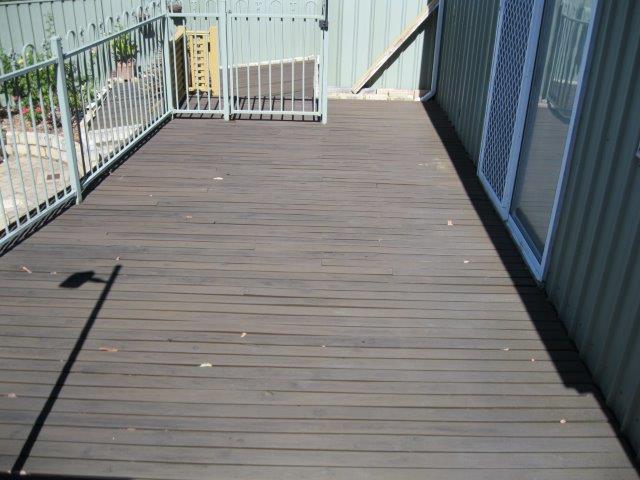 Old pine decking needs repair
