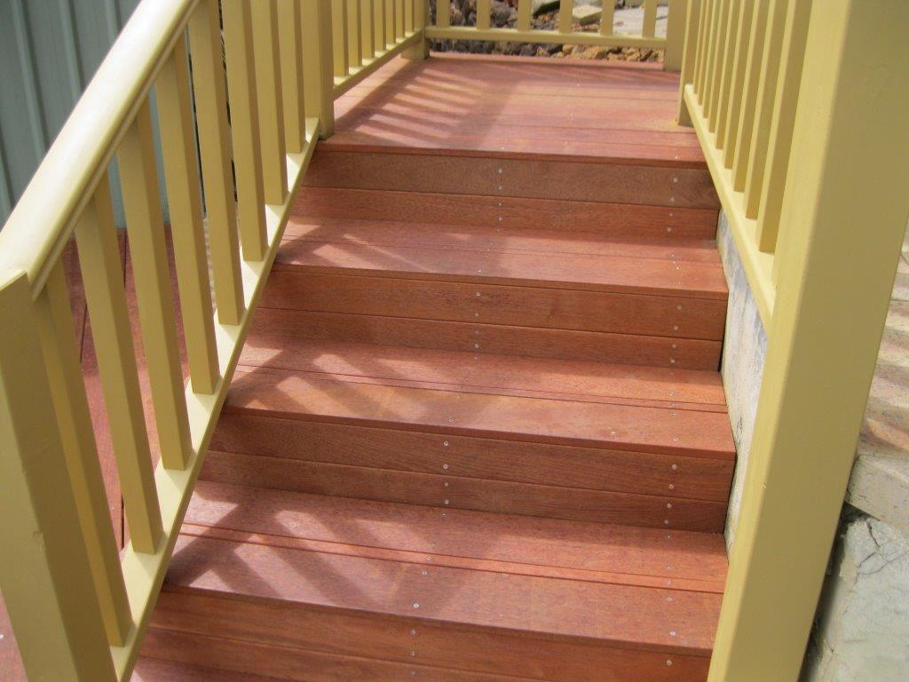 Decking Steps and Handrails