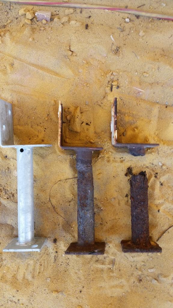 Rusty stirrups