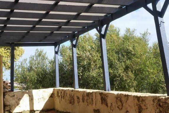 Patio builders roofing after repair