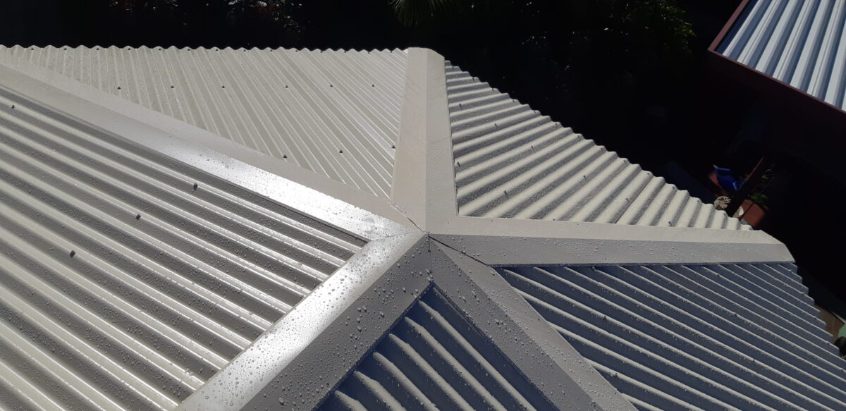 Add on roofing and secure flashings